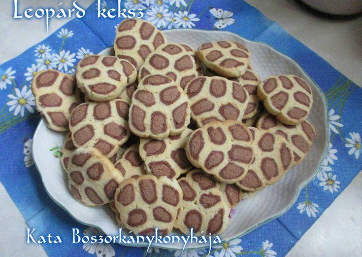 Leopárd keksz (Gluténmentesen is!)