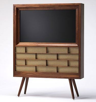 M21 Flat Panel Console - turn your modern TV into a vintage design