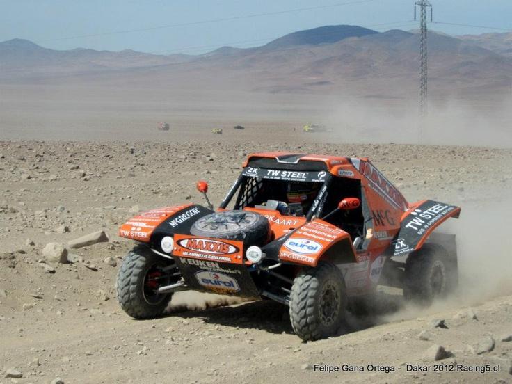 Tom Coronel!! - McRae Buggy - Dakar 2012