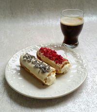 Pınar's Desserts: Beyaz Çikolatalı Ekler