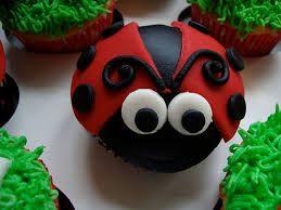 Resultado de imagem para ladybug cupcakes ideas
