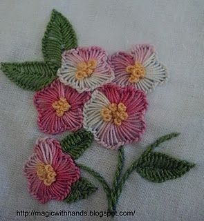 'embroidery - buttonhole stitch'