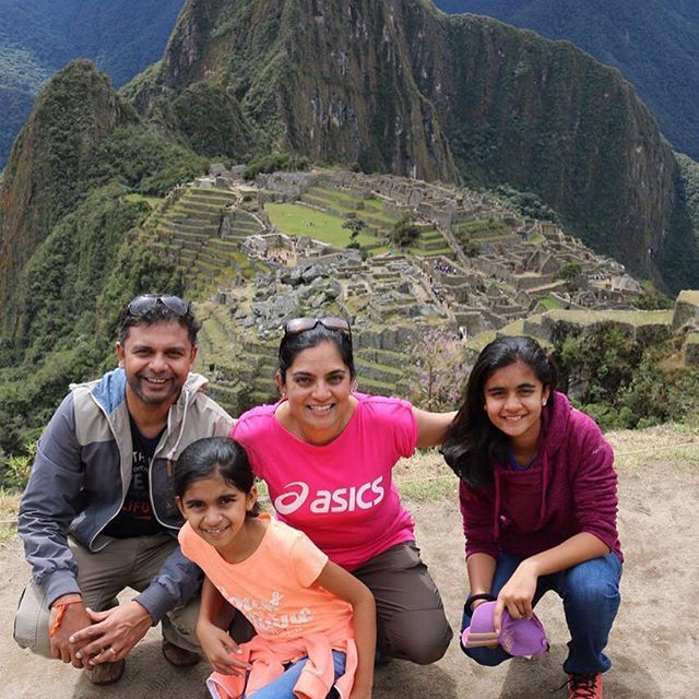 Shah family enjoying their day at Machu Picchu #igersperu #geocusco…