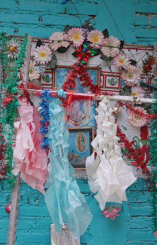 Virgin of Guadalupe shrine by Ilhuicamina, via Flickr