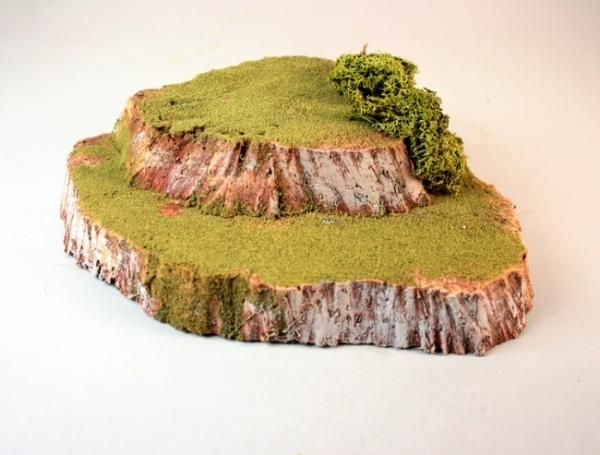 Making Dynamic, Craggy Hills - Articles - DakkaDakka | Like the Black Library but easier to find.