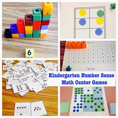 Kindergarten Is Crazy (Fun): Teaching Math in Kindergarten: Numbers and Number Sense Activities. Great Math Center/Station games