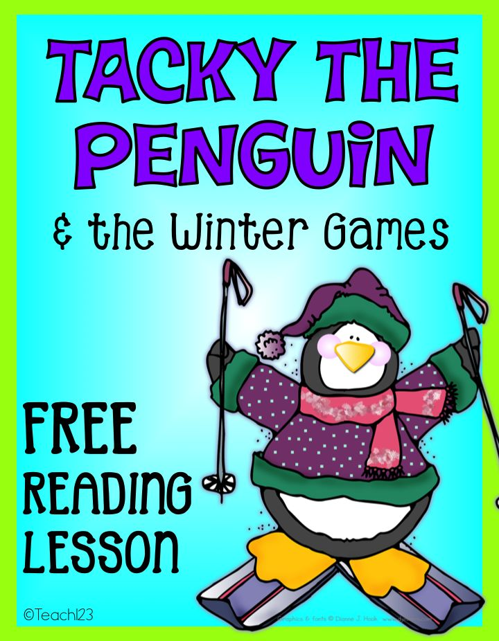 FREE Tacky the Penguin reading comprehension lesson. Plus, tips to help with students who rush their work.