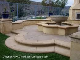 Concrete Patios The Green Scene Northridge, CA