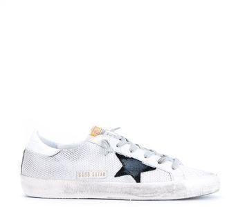 Oie D'or De Luxe Pour Enfants De Marque Chaussures De Sport Super Star Ado - Gris 7ZZ2g