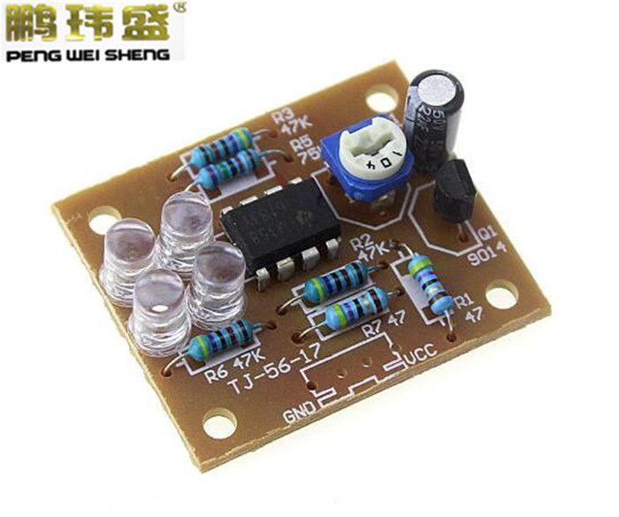 Blue Led 5MM Light LM358 Breathing Lamp Parts Kit Electronics DIY Interesting Product Suite #Affiliate