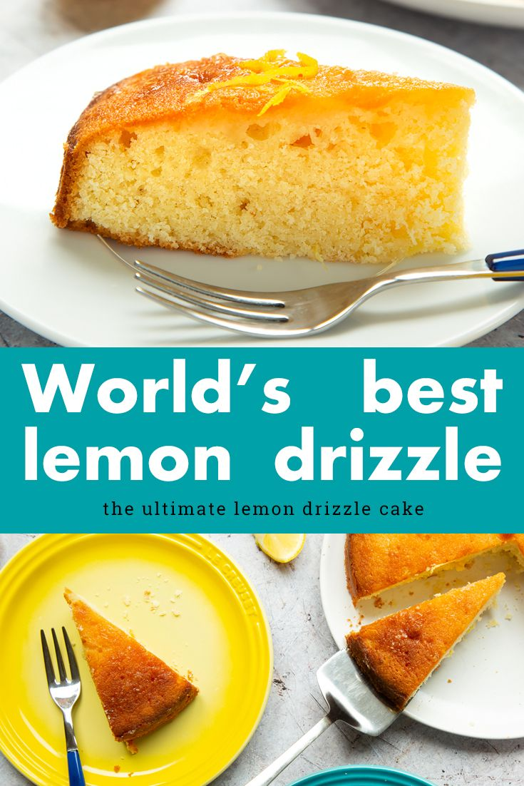 The World S Best Lemon Drizzle Cake Recipe A Mummy Too Recipe Lemon Drizzle Cake Best Lemon Drizzle Cake Cake Recipes