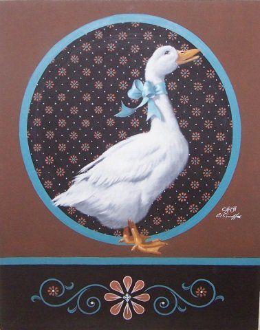 "(1912-2000 American) ""The Duke"", unframed acrylic on illustration board"