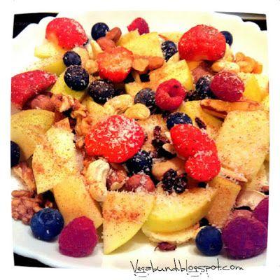 Ovocný salát - rychlá a zdravá snídaně / Fruit salad - easy and delicous breakfast