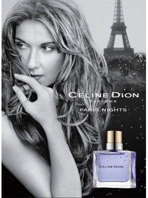 Celine Dion Paris Nights Perfume ad Aug 2077