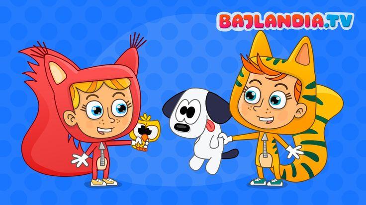 Jestem sobie przedszkolaczek - piosenki dla dzieci od bajlandia.tv - HD
