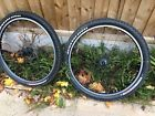 Garage Workshop Barn Find Mavic Deore Xt Specialized Mountain Bike Wheels Tyres