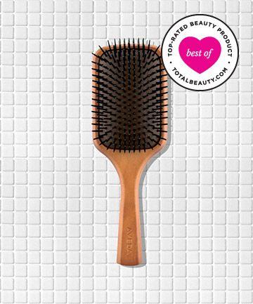 Best Hair Brush No. 9: Aveda Wooden Paddle Brush, $22