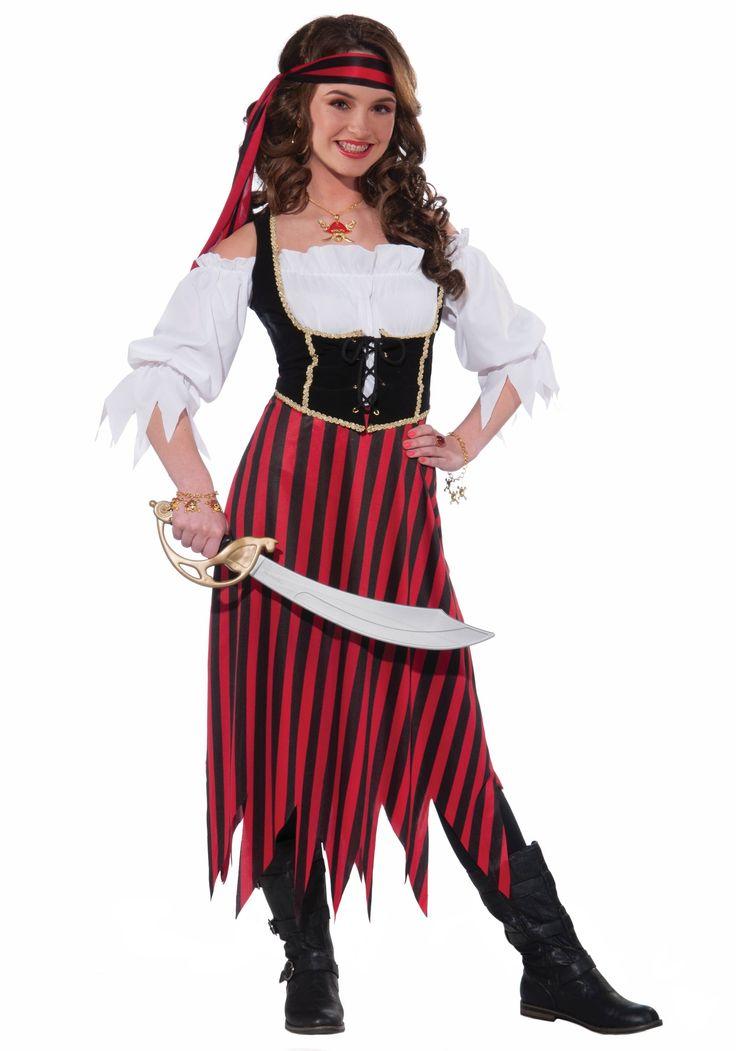 teen pirate maiden costume - Halloween Pirate Costume Ideas