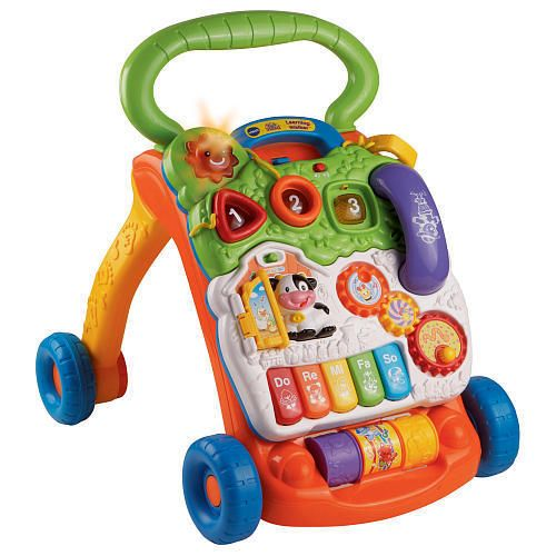 VTech Sit-to-Stand Learning Walker Infant Interactive Toy NEW FREE SHIPPING