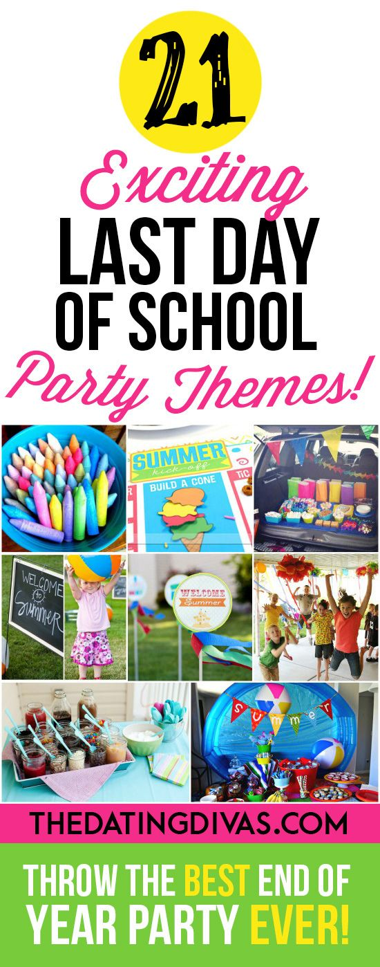 Best party ideas ever! We are going to have such a fun party this year!!