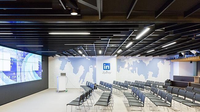 Linkedin Office All Hands Room Sydney Woods Bagot