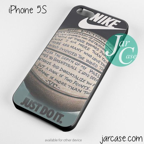 nike basketball quote Phone case for iPhone 4/4s/5/5c/5s/6/6 plus