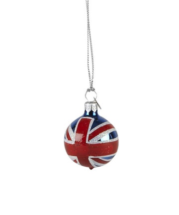 union jack ornament..... I could actually make these myself instead of spending a ridiculous amount of money on just 1 :)
