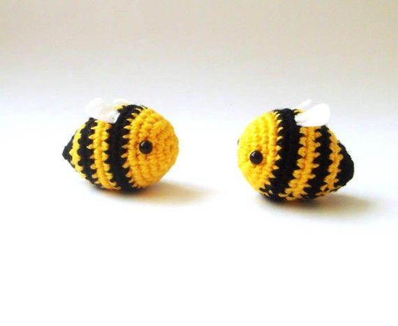 abejas - conjunto de abejas abejorro de San Valentín par 2 amor