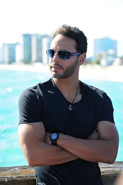 """There are some men who just exude the very definition of """"sexy.""""  Daniel Sunjata in Graceland"""