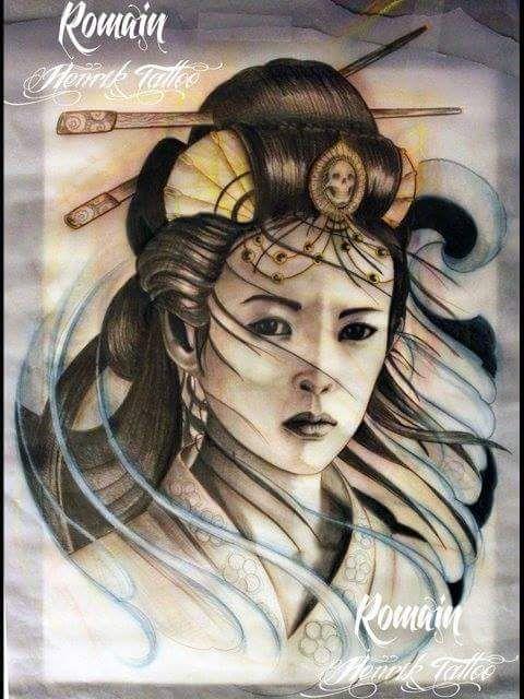 61 mejores im genes de geisha en pinterest tatuajes de - Tattoos geishas japonesas ...