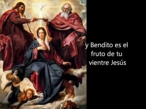 Juan Pablo II Santo Rosario Misterios Gloriosos - YouTube