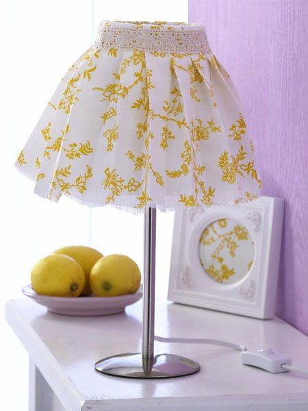 Original lamps with your own hands: 22 Diy ideas for decorative lamp shade