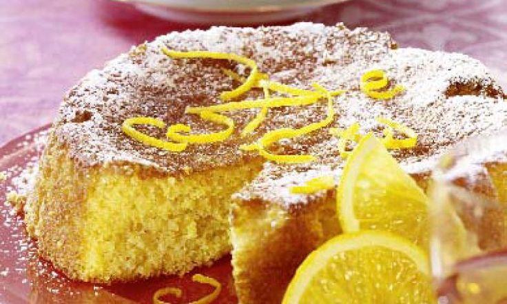 Rezept für typischen Mandel-Orangen-Kuchen aus Italien