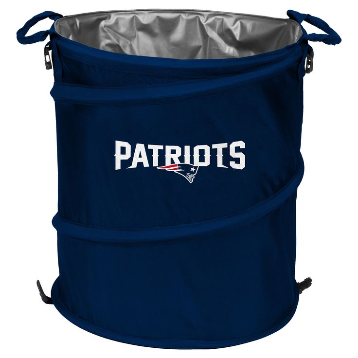 NFL New England Patriots Collapsible 3-in-1 Soft-Sided Cooler Tote https://www.fanprint.com/licenses/new-england-patriots?ref=5750