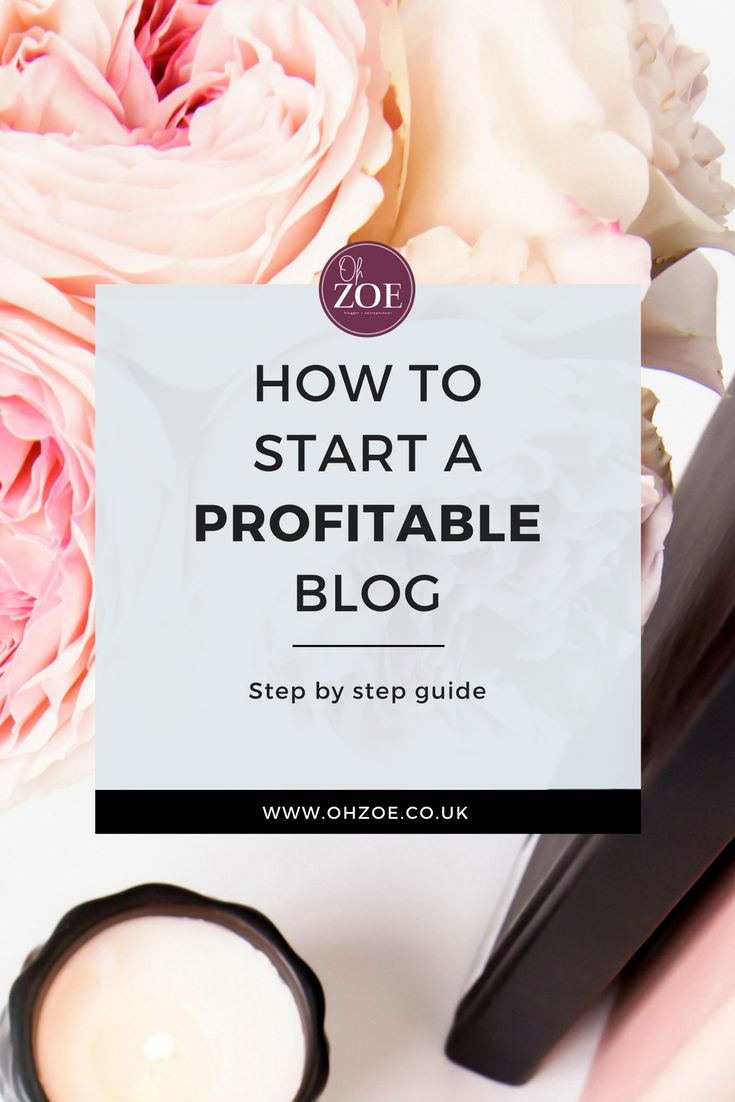 How to start a blog and make money blogging - step by step guide #blogging #blogger #blog