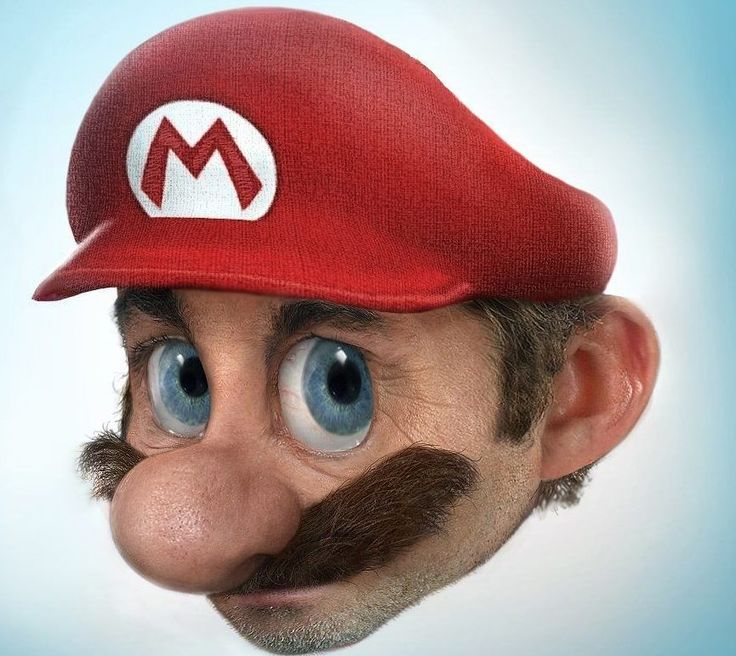 Super Mario Bros. You Can't Miss This! The 18 Most Famous Cartoon Characters In 3D • Page 5 of 5 • BoredBug