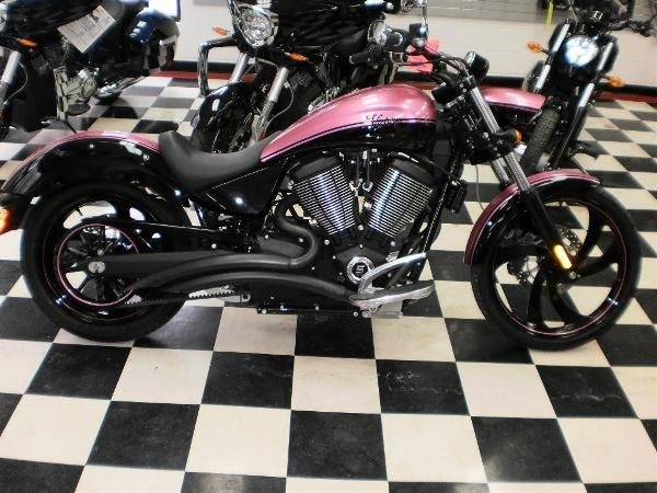 Pink Victory Vegas 8 Ball Motorcycle