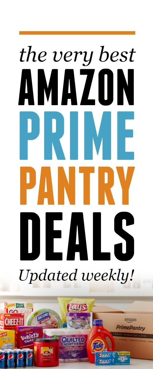 The very best Amazon Prime Pantry Deals! This list is updated regularly -- use this post to know the best prices on Amazon Prime Pantry items!