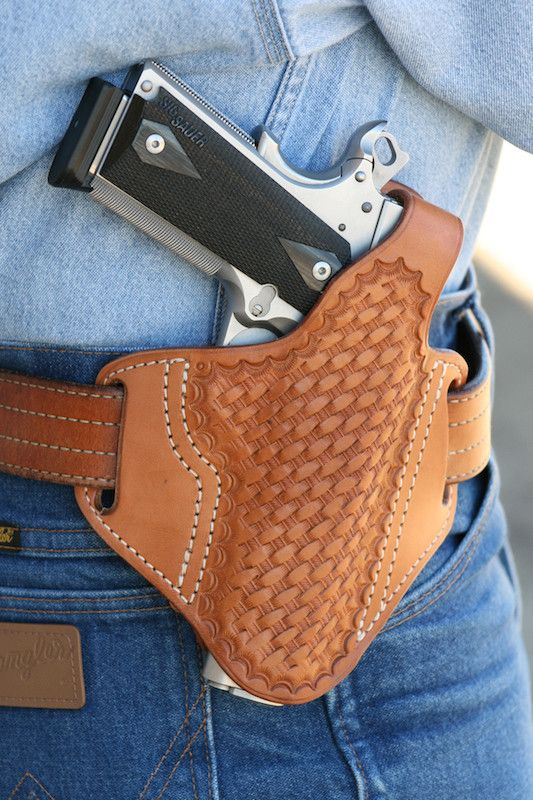 My first holster