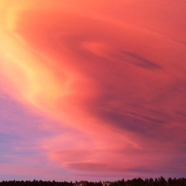 Amazing sky over Nederland!