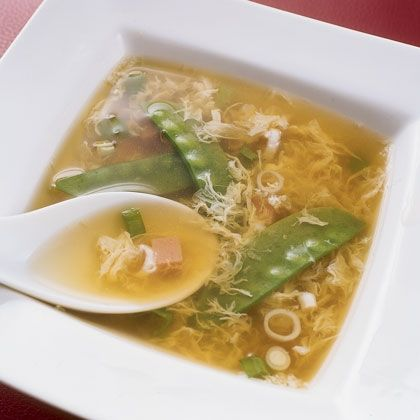 drop soup egg drop soup egg drop soup with ginger chiles spring peas ...
