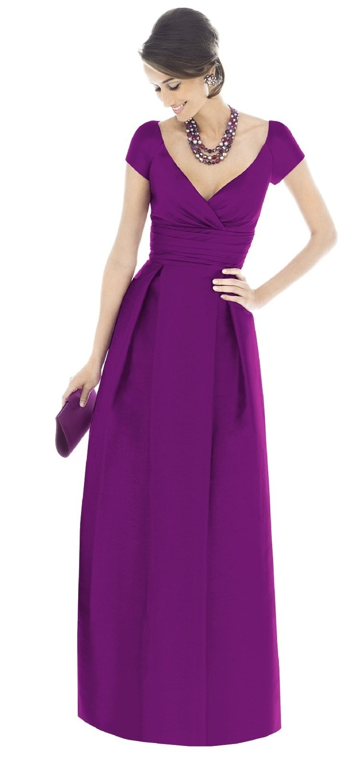 I love this! Perfect for a winter wedding. The top is classy and conservative, and the color is so vibrant. Would really love this in light pink with short pearl strands, and bridesmaid updo with a light pink rose in hair