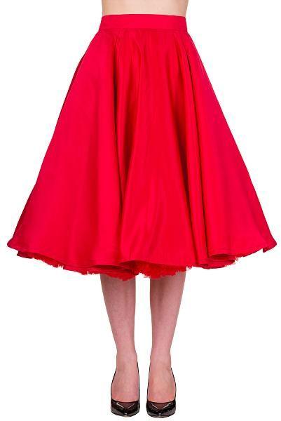 Miracles Skirt, Rød