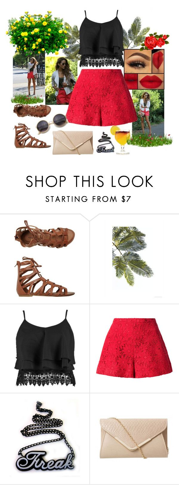 """""""Water Park"""" by mell-2405 ❤ liked on Polyvore featuring O'Neill, Boohoo, Giambattista Valli and Retrò"""