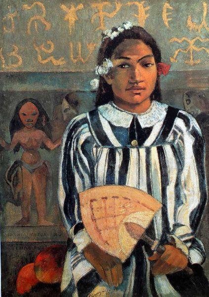 Paul Gauguin - Post Impressionism - Tahiti - Tehamana a de nombreux parents - 1893
