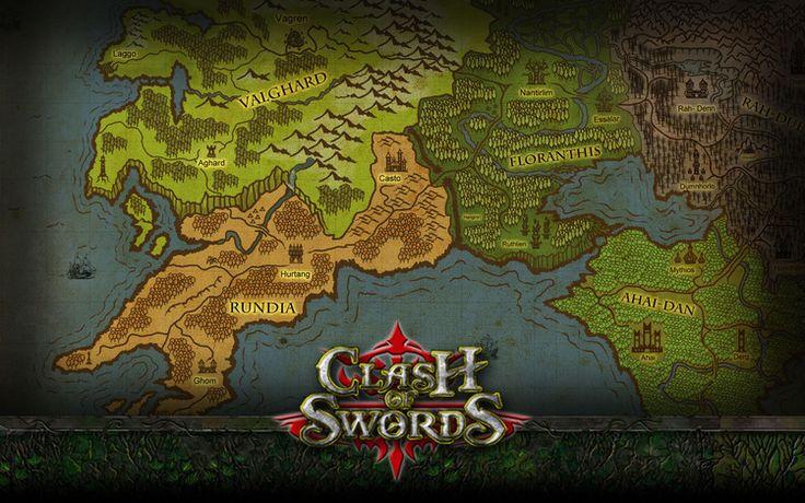 Map in Clash of Swords