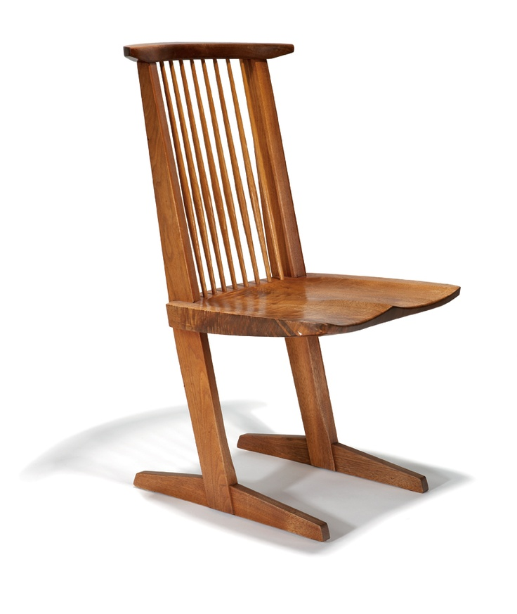 George nakashima conoid chair george pinterest for Beautiful designer chairs