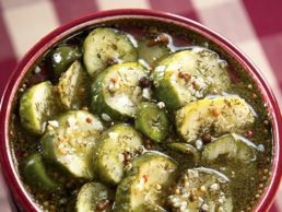 Garlic Dill Pickles The absolute best recipe EVER! Crisp crunchy pickles with a kick. Make these and people will think you got them from a fancy deli!