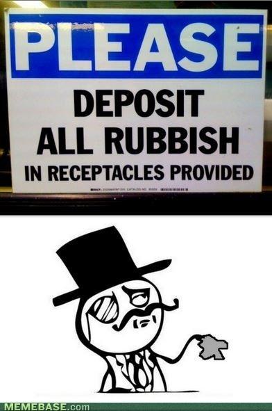 Dispose Like a Sir