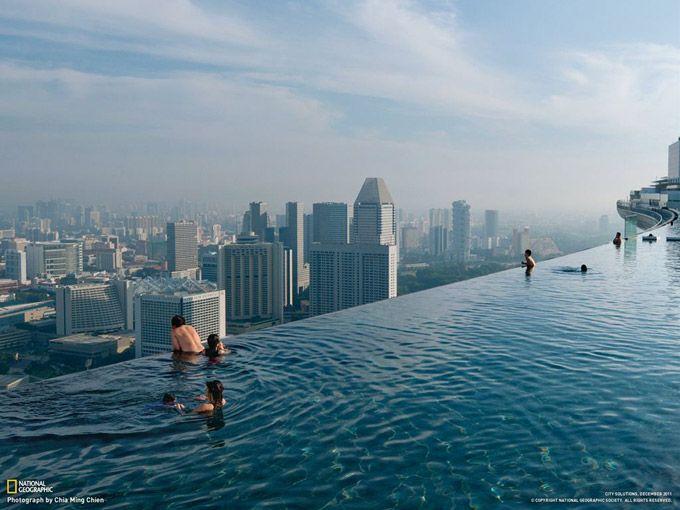 天空のプール(シンガポール)   ナショナルジオグラフィック日本版サイト